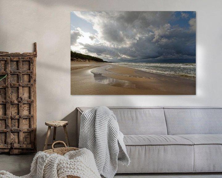 Beispiel: Einsamer Strand von Ralf Lehmann