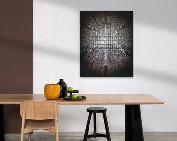 Abstracte architectuur van MAT Fotografie