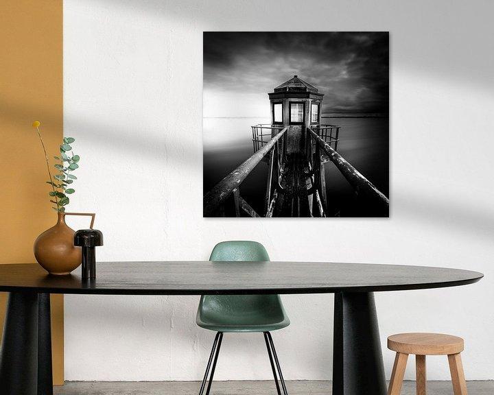 Sfeerimpressie: Vuurtoren Oostmahorn van Eddy Westdijk