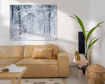 snowfall 2 van Erik de Jong