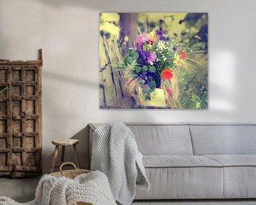 Wildblumen Gruß aus dem Sommer von Tanja Riedel