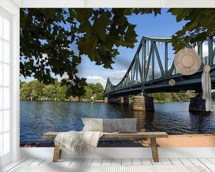 Impression: Le pont Glienicke entre Berlin et Potsdam sur Frank Herrmann