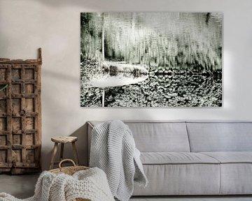 Wasser | Abstrakt von Henriëtte Mosselman