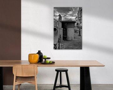 Urinoir Oudezijds Voorburgwal van Peter Bartelings Photography