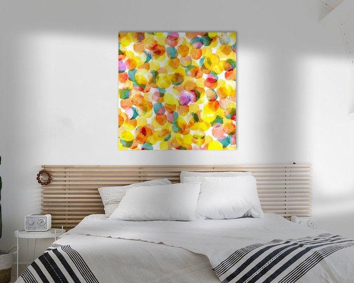 Impression: Hommage à Georges Seurat sur Harry Hadders