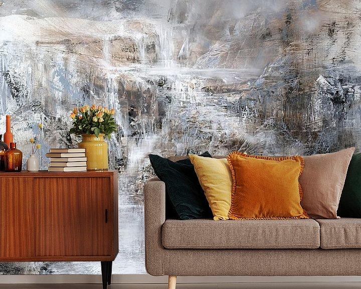 Sfeerimpressie behang: elementen__ van Annette Schmucker