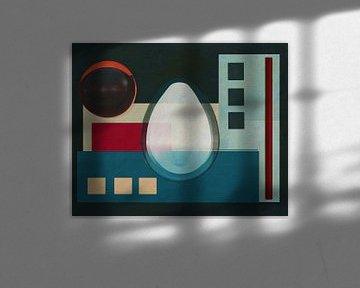 Constructivisme schilderij nummer 20