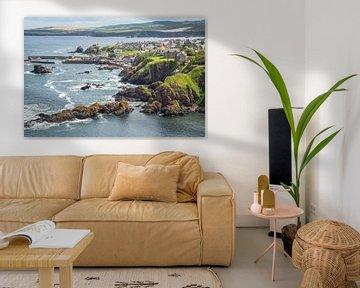 St. Abbs an der Küste in Schottland von Arja Schrijver Fotografie