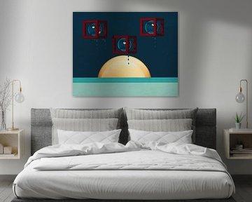 Constructivisme schilderij nummer 5
