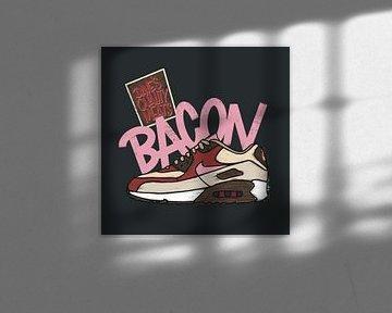 """Nike Air Max 90 """"DQM Bacon"""" von Pim Haring"""
