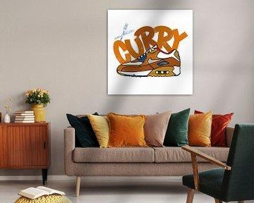 """Nike Air Max 90 """"Curry"""" von Pim Haring"""