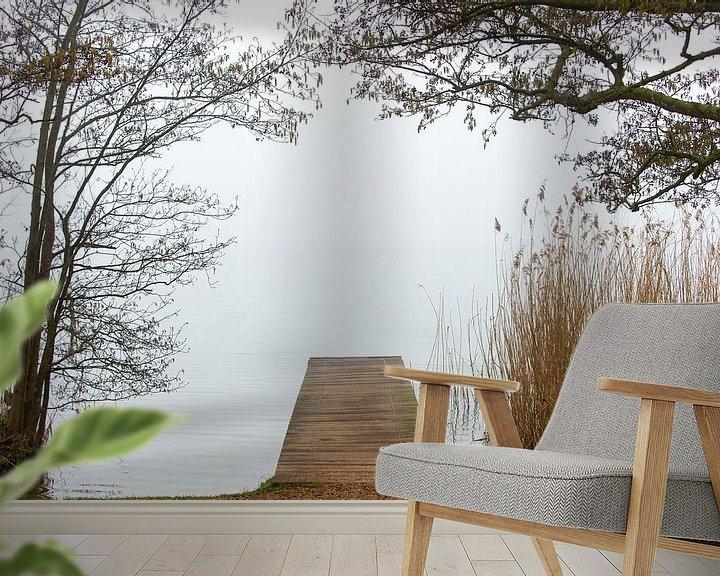 Impression: Jetée dans les bois sur Wim Slootweg