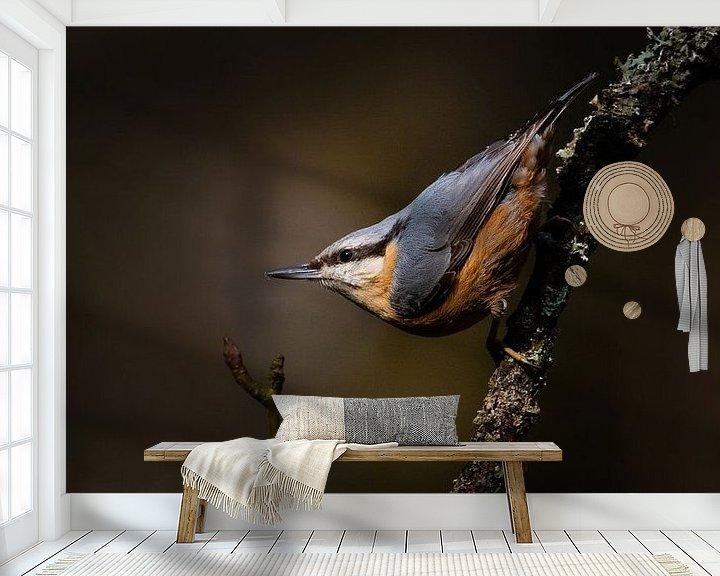 Sfeerimpressie behang: ready to go van Ard Jan Grimbergen