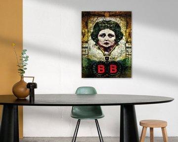 Reinventing Betty Boop (vanuit jaren '20 zwartwitfoto)