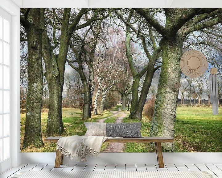 Sfeerimpressie behang: Empese en Tondense heide van Sran Vld Fotografie