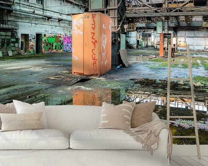 Beispiel fototapete: Lost Place einer alten Fabrik in der ehemaligen DDR von Animaflora PicsStock
