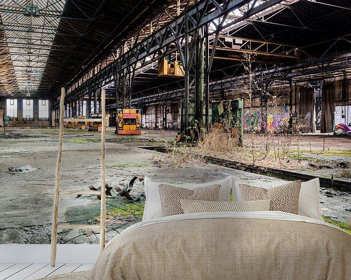 Beispiel fototapete: Alte Fabrik aus der DDR Lost Places von Animaflora PicsStock