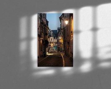 Stadtbild Bourges von Manuuu S