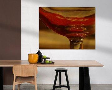 Plus de vin rouge dans le verre ? sur Grille