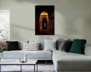Stained glass van Ton van Buuren