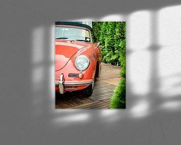 Klassische 1950er Jahre Porsche 356 Sportwagen Front von Sjoerd van der Wal