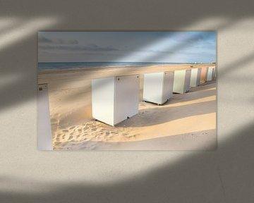 Badhuisjes op het strand van Danny Tchi Photography