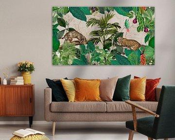 Leoparden im Dschungel von Andrea Haase