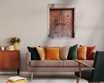 oude deur 1771 van Sandra Hogenes