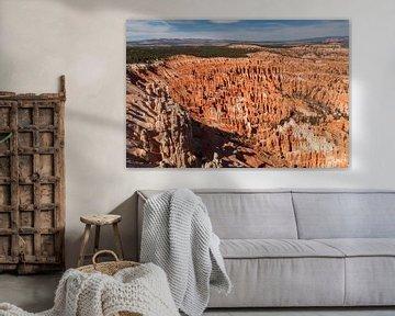 Brice Canyon National Park overzicht van Bart Poelaert