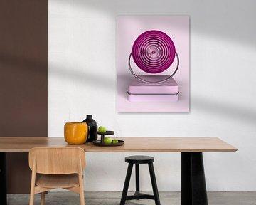 Kreis im Kreis rosa von shoott photography