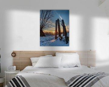 Winterlandschaft von Wesley Kole