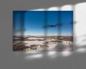 Winter Schnee Drohne von Johnny Flash