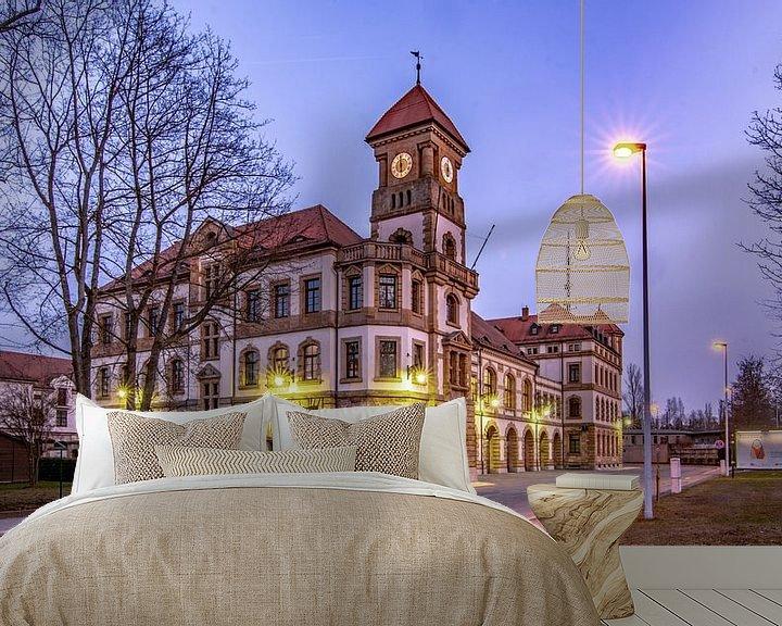 Beispiel fototapete: In Chemnitz unterwegsHier zeige Ich euch Bilder aus NRW oder aus meiner 2. Heimat, dem Erzgebirge,   von Johnny Flash