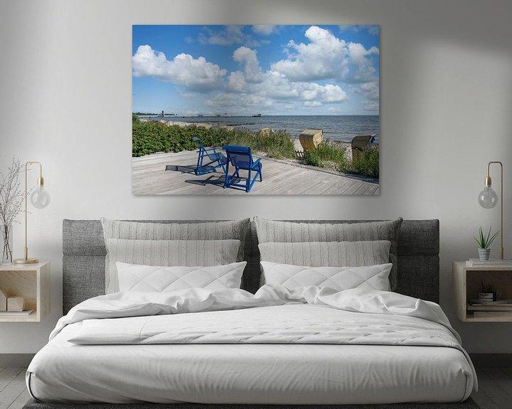 Beispiel: Strand im Ostseebad Kellenhusen,Deutschand von Peter Eckert
