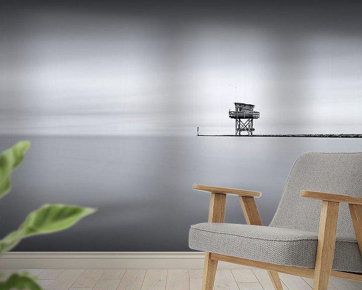 Sfeerimpressie behang: Observation post van Etienne Hessels