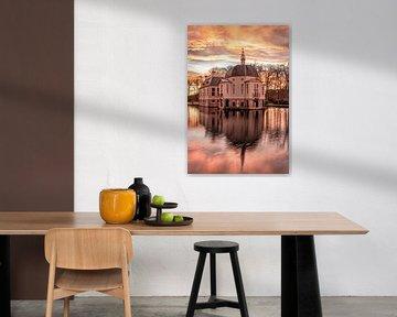 Farbenfroher Sonnenaufgang bei Trompenburgh von Connie de Graaf