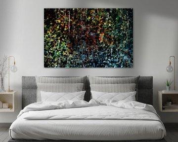 Abstractart : Tropfsteinhöhle von Michael Nägele