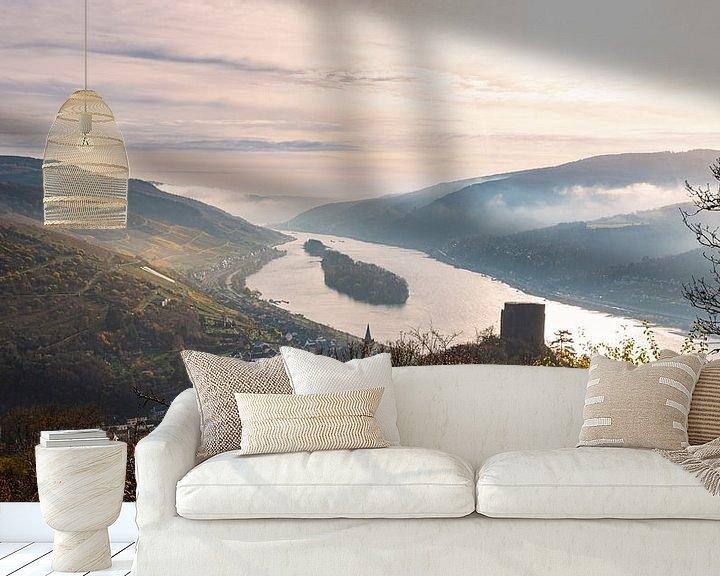 Impression: La vallée du Rhin et le Rheingau à la lumière du matin sur Jens Sessler