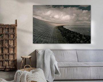 Kop van de Afsluitdijk van Johannes Schotanus