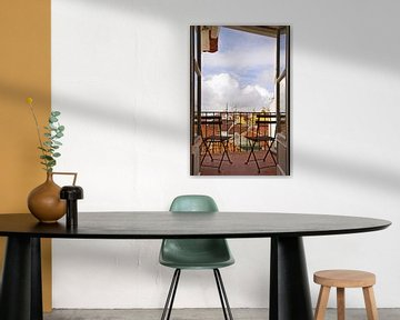 Lissabon balkon van Steffi Hommel