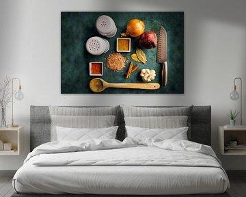 Keuken kunst van Björn van den Berg