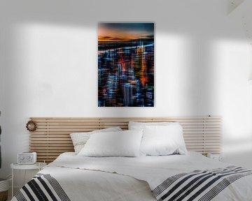 New York - Die Nacht erwacht von Hannes Cmarits