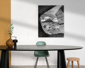 Factory Butte in Zwart-wit van Henk Meijer Photography