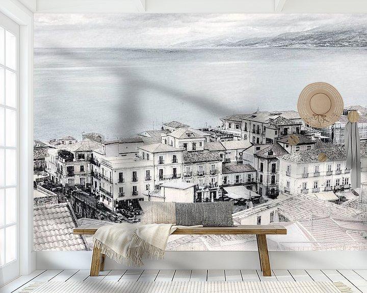 Sfeerimpressie behang: Pizzo van Dick Jeukens