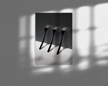 Stilleven met vorken van Marco Heemskerk
