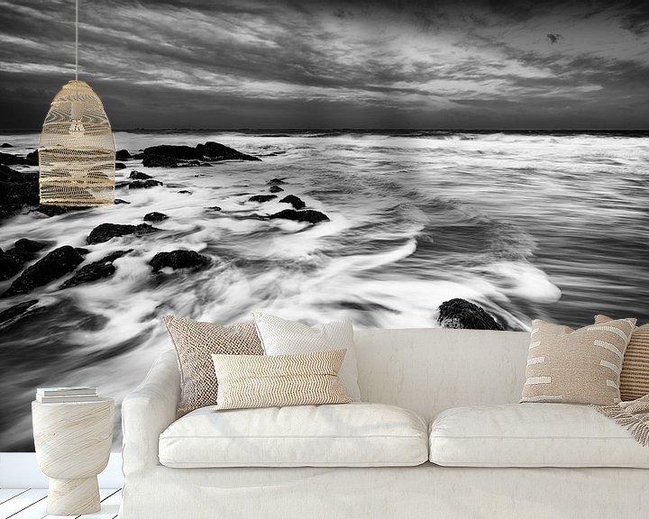 Sfeerimpressie behang: Tides van Thom Brouwer