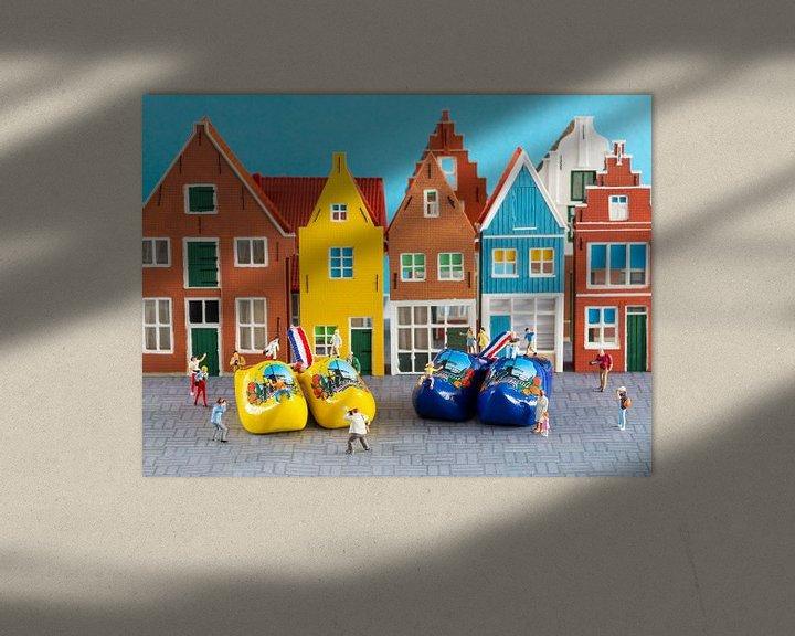 Beispiel: Niederländische Szene von Sandra Perquin