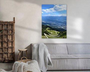 Zerklüftete Landschaft in Österreich von Nikkie Fotografie