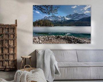 Eibsee im Winter von Einhorn Fotografie