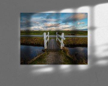 Brücke zu den Wolken von Nico Olsthoorn